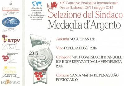 certificado Concurso del Sindaco rosé